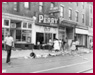 thumbnail for Columbia Avenue Riots showing littered streets of Columbia Avenue
